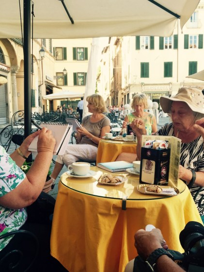 Coffee in Lucca