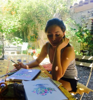 Rose learning to sketch