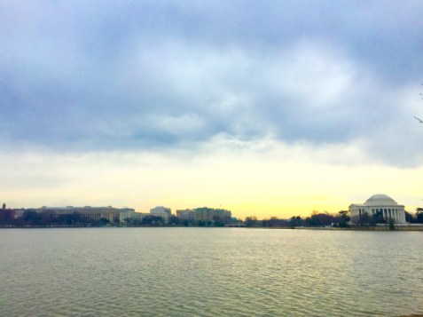 View of the Jefferson Memorial - Washington D.C.