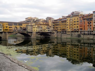 Reflection on Arno River