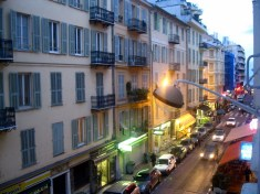Hostel View in Nice, France