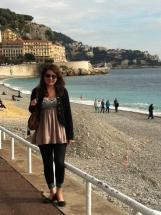 Coastline in Nice, France