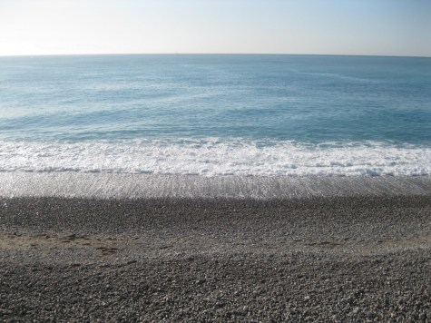Nice, France coastline