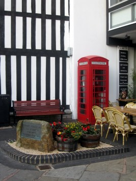 Cute corner in Stratford-Upon-Avon, England