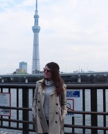 In front of SkyTree
