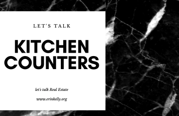 let's talk: KITCHEN COUNTERTOPS