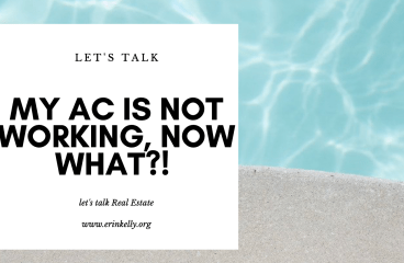 let's talk: MY AC IS NOT WORKING , NOW WHAT?!