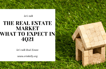 let's talk: THE REAL ESTATE MARKET – WHAT TO EXPECT IN 4Q21