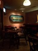 Inside Miller's Bar