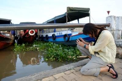 Video of Mekong river boats. Photo by Bao Quan Nguyen.