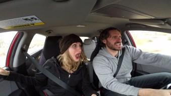 Joshua tree crazy driving