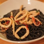 Fast, Easy Chili Squid Black Pasta Recipe