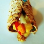 Easy Tropical Salsa Quorn Wraps