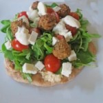 Falafel Salad Pizza Recipe