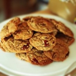 Pecan Maple Cookies