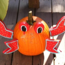 Lobster pumpkin