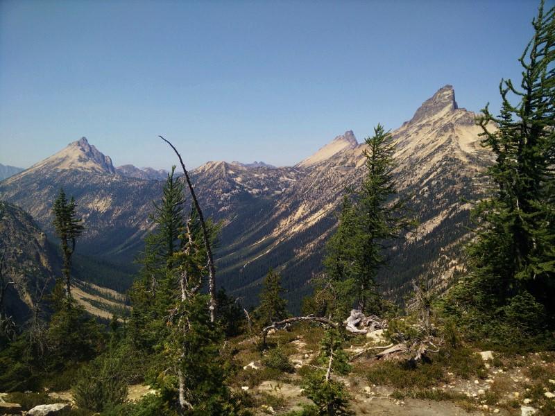 Rainey Pass to Glacier Pass
