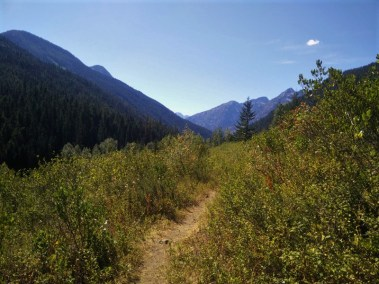 Trail South to Stehekin