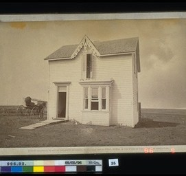 Louis Riel North West Rebellion 1885 Hall & Lowe. Louis Riel North West Rebellion 1885, 1885. Photographic Print, (13.0 x 21.3 cm). CMH no. 996.2.35