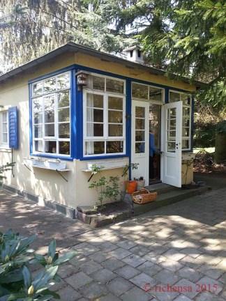 Gartenhauseröffnung