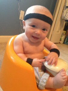 Workout Wednesday: Rocking and Rolling with Your Baby
