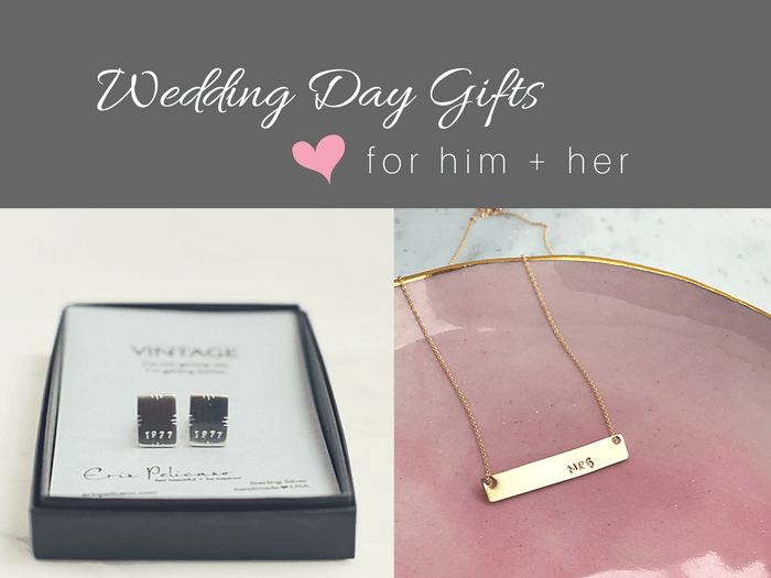 Bride And Groom Wedding Gift Exchange Ideas