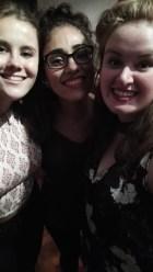 Katie, Cinthia and I