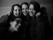 Katie, Cinthia, Sofia and I