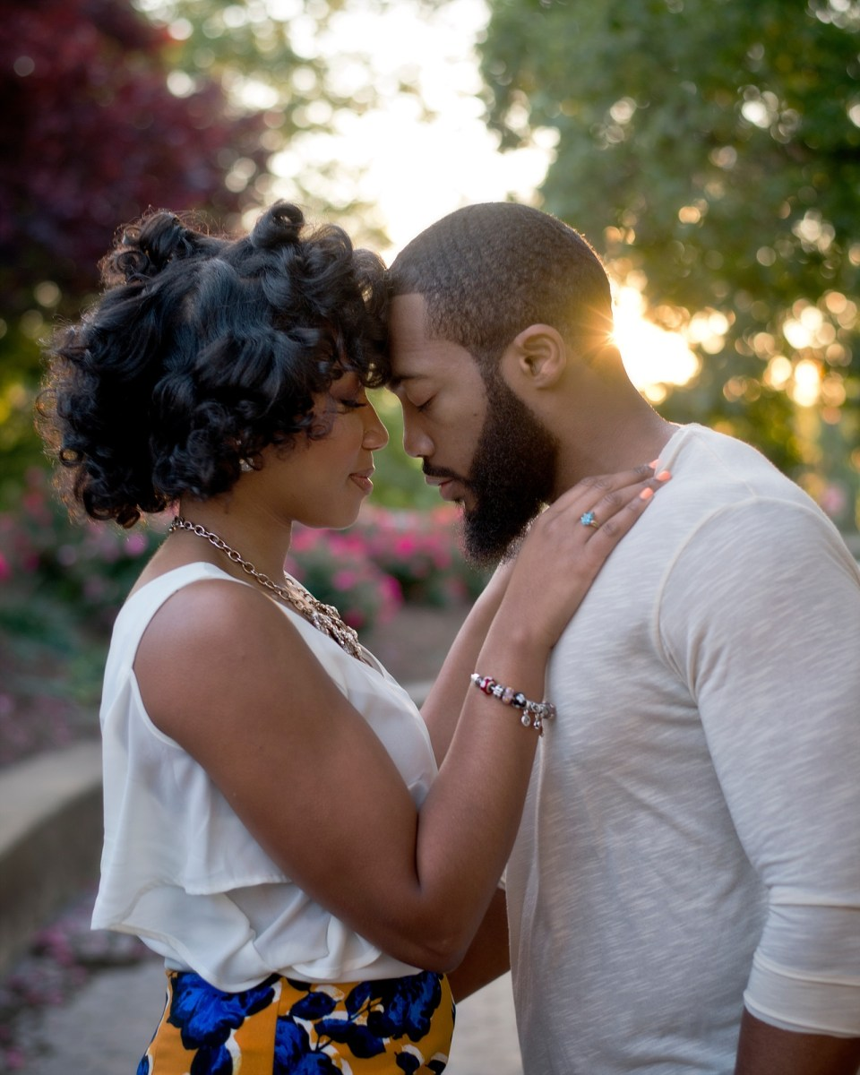 Rosslyn Virginia Engagement Session