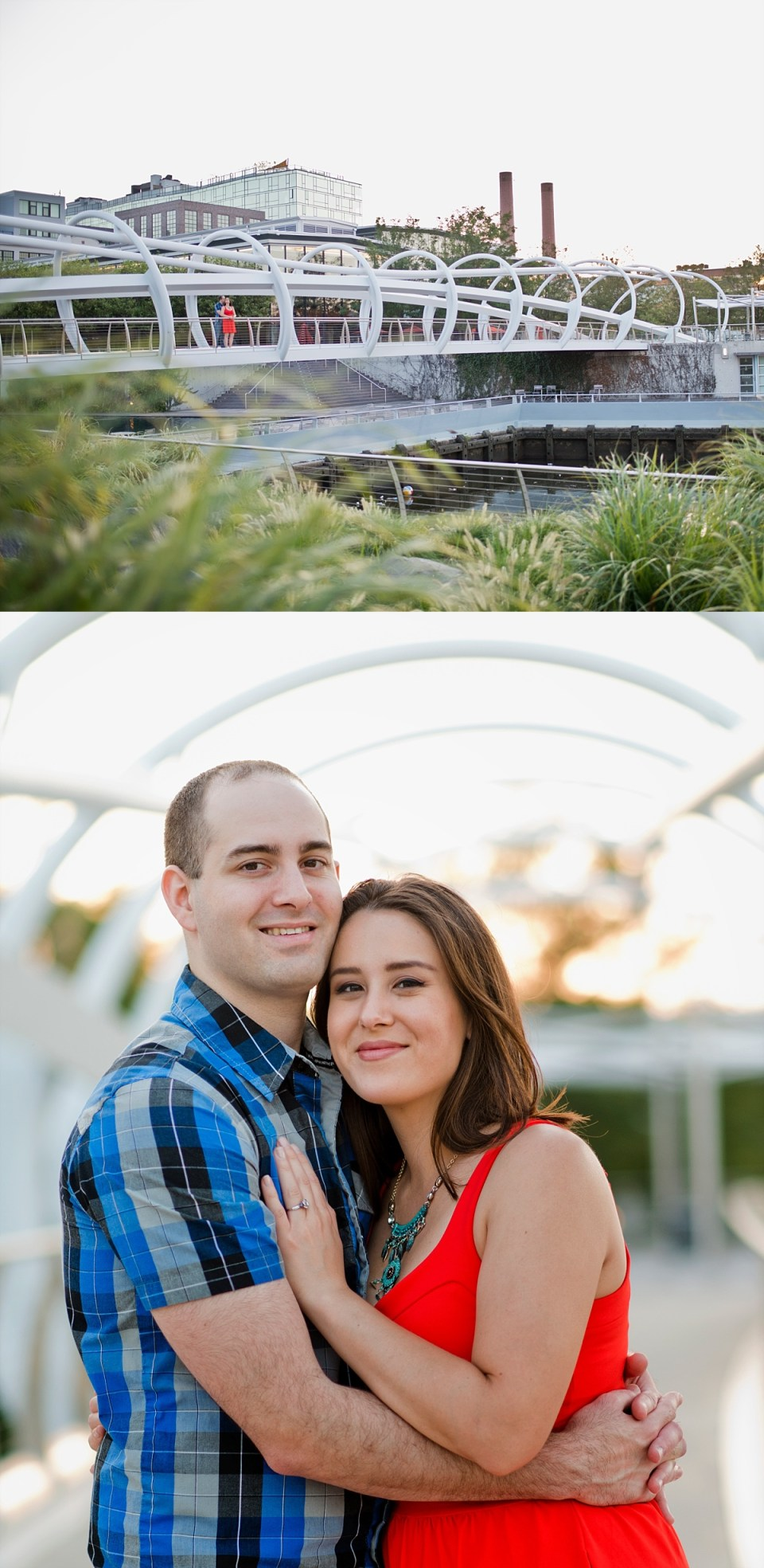 Navy Yard DC, Yards Park, Washington DC Engagement Session by Erin Tetterton Photography