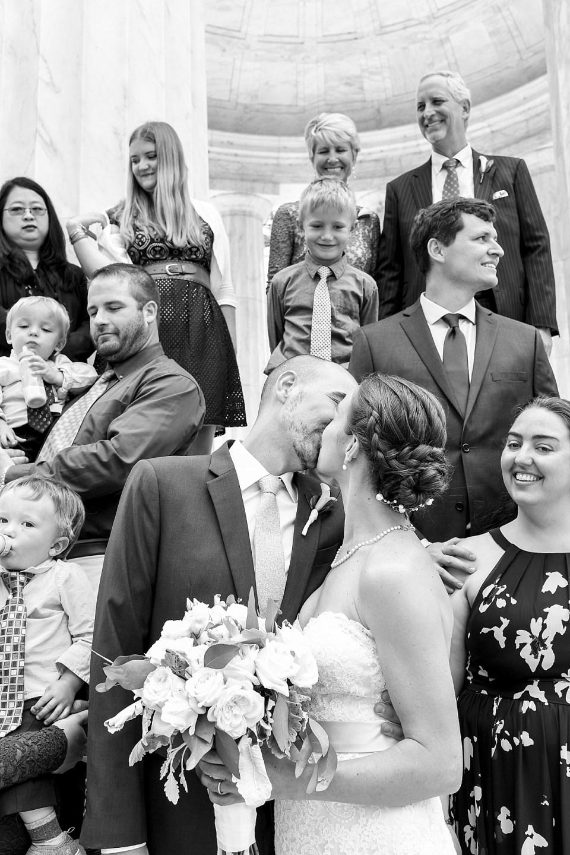 Family Portraits at DC War Memorial Wedding