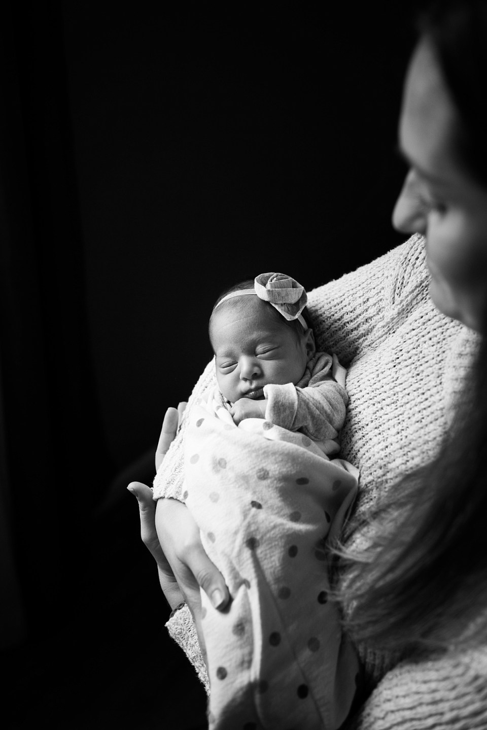 In Home Newborn Photographer in Fairfax, VA