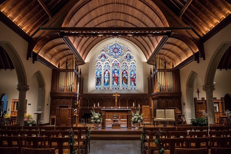 Dahlgren Chapel Wedding at Georgetown University