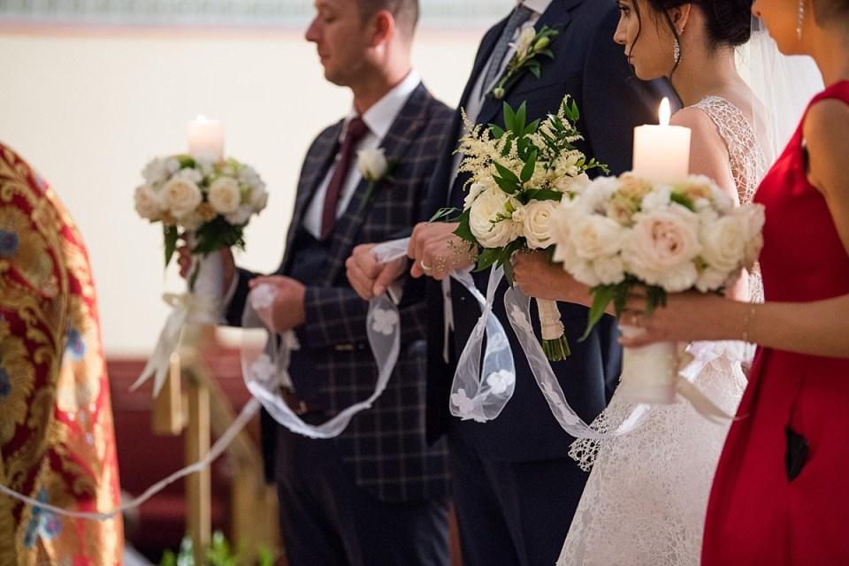 Wedding at St. Katherine's in Falls Church, VA