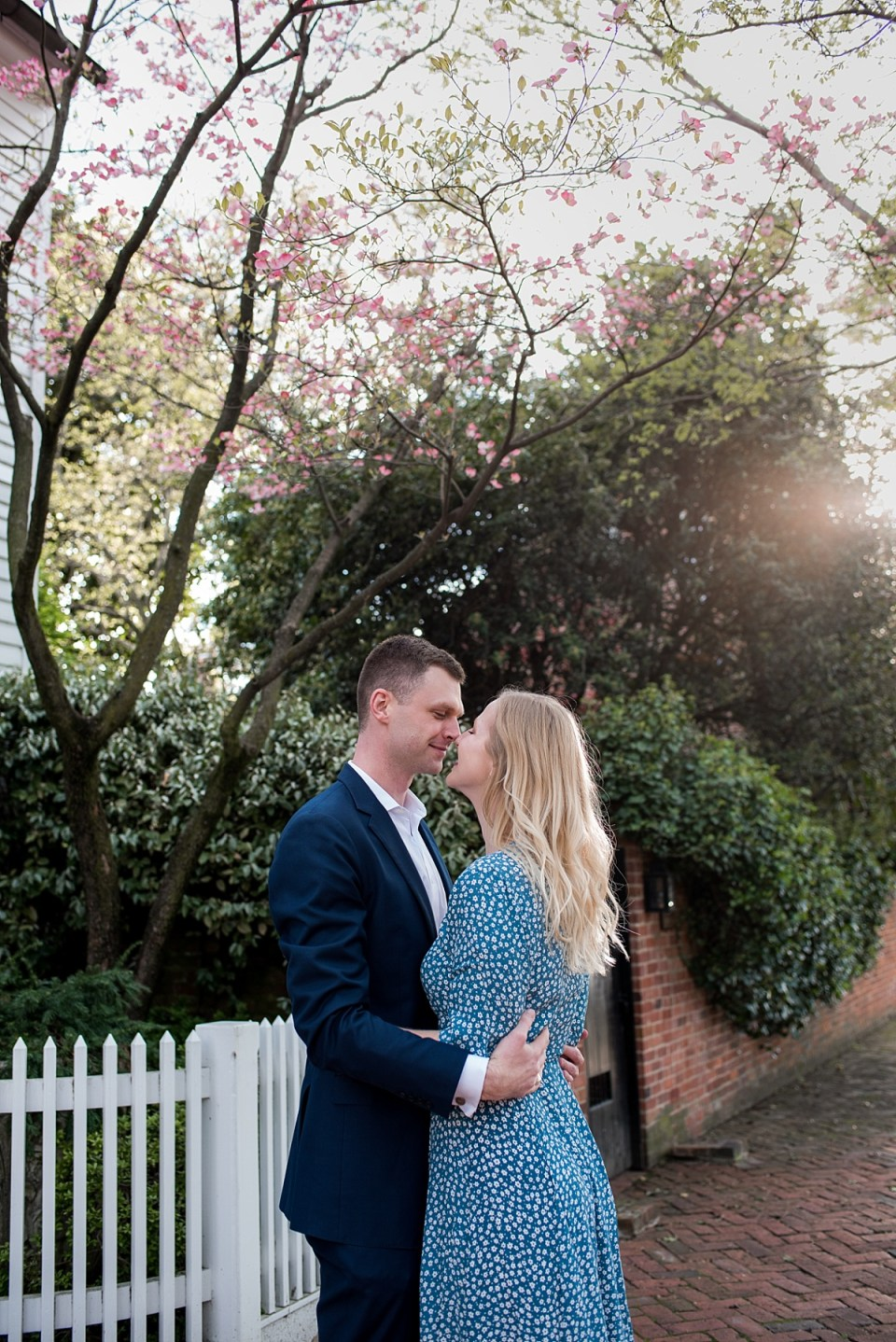 Spring Engagement Session in Alexandria VA