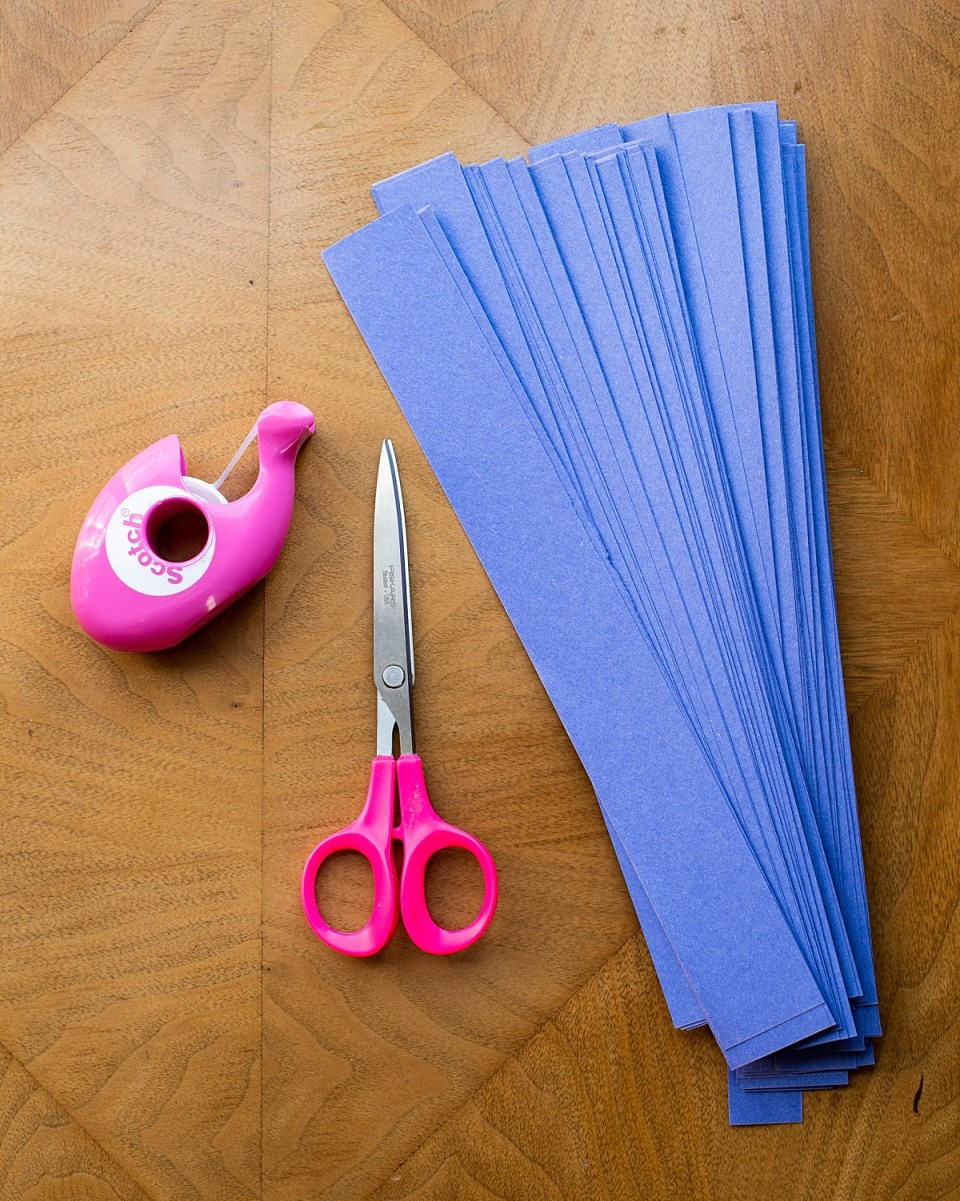 Easy Crafts to do with kids - Scissors, Tape, & Paper