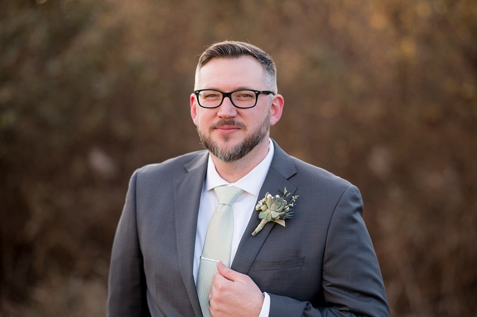Groom Portraits during golden hour at Briar Patch Bed and Breakfast Wedding in Middleburg, VA