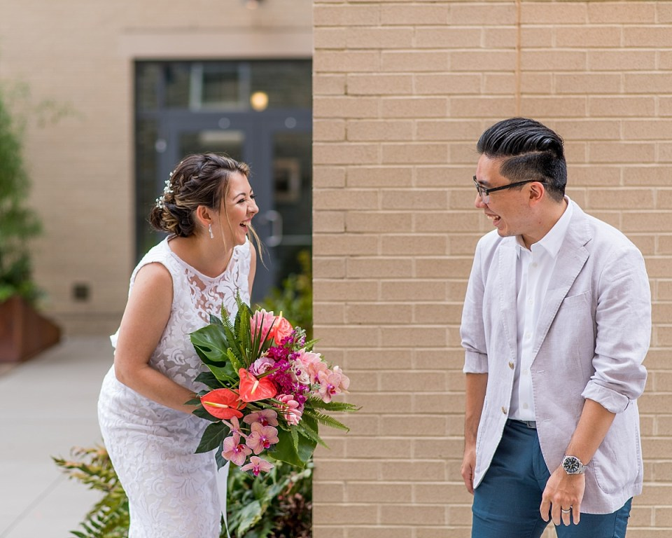 First Look at Hotel Indigo at Old Town Alexandria Wedding