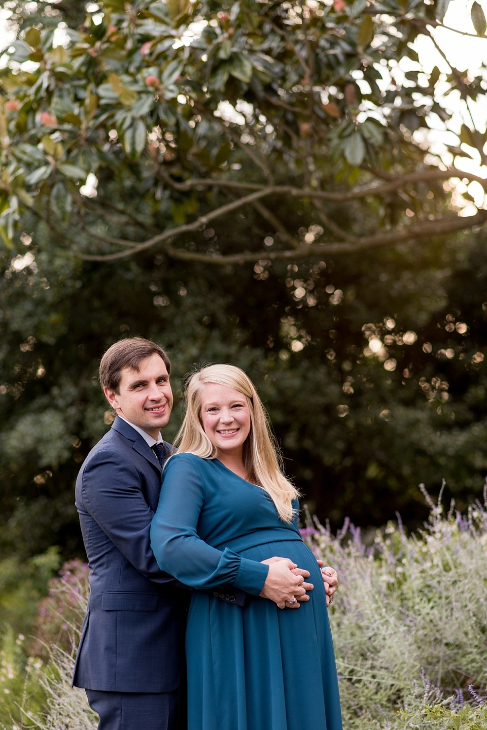 Maternity Photos at Greenspring Gardens in Alexandria by Alexandria Maternity Photographer, Erin Tetterton