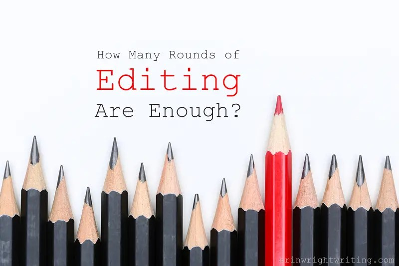 Image of One Red Pencil with Multiple Black Pencils | How Many Rounds of Editing Are Enough?