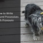 How to Write Compound Possessives with Pronouns