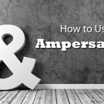 How to Use Ampersands