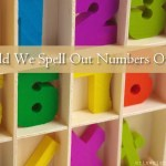 Should We Spell Out Numbers Online?