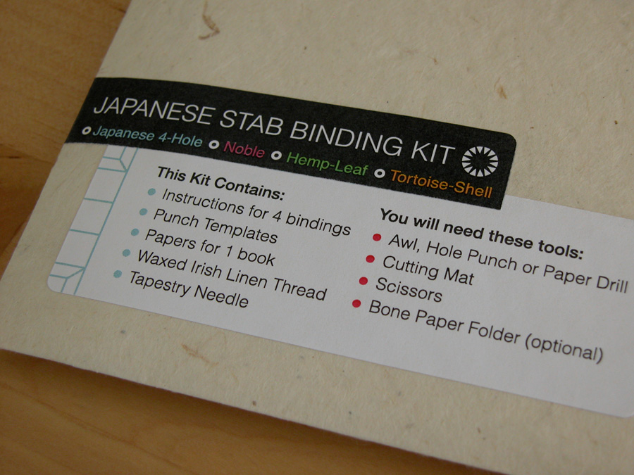 Erinzam News Blog Archive Japanese Binding Kit And
