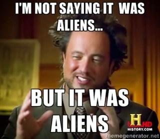 aliens meme guy