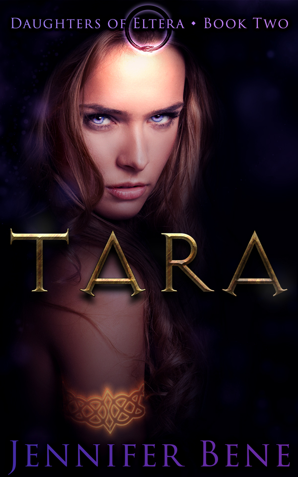 "I'm at it again! Cover design for Jennifer Bene's ""Tara"""