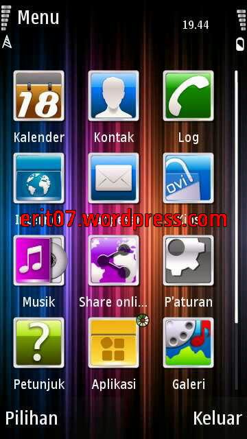 menu tema plazma full icon by erit07