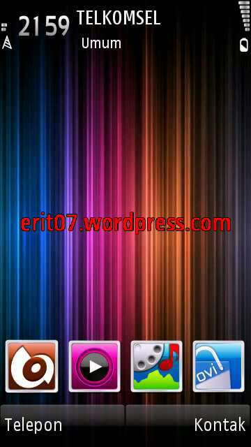 layar awal tema plazma full icon by erit07