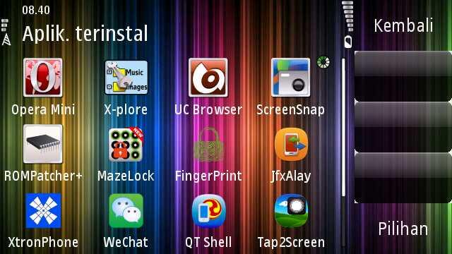menu landscape tema plazma full icon by erit07