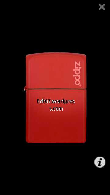 virtual zippo lighter by erit07